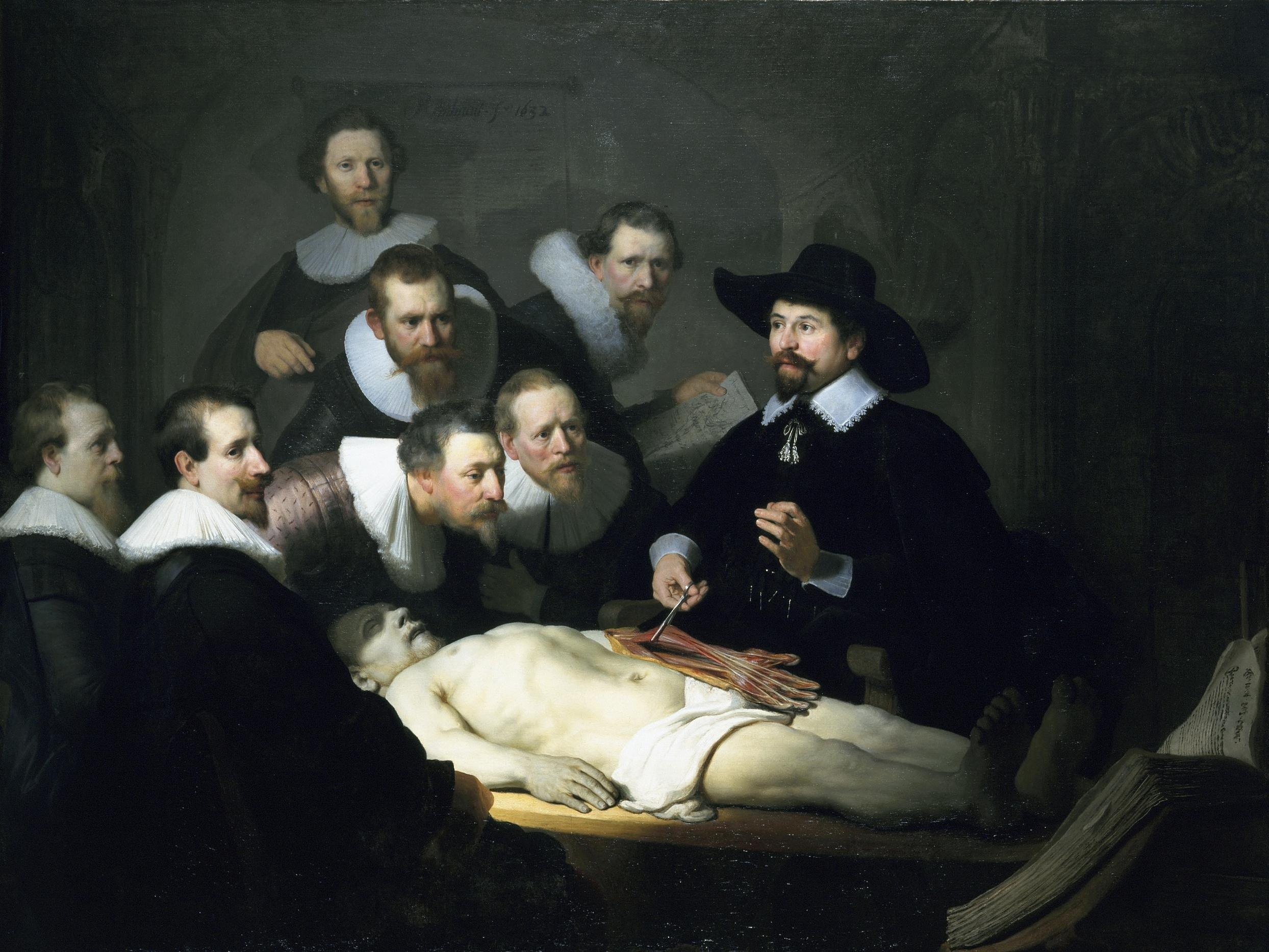 Rembrandt's Anatomy Lesson of Dr. Tulp