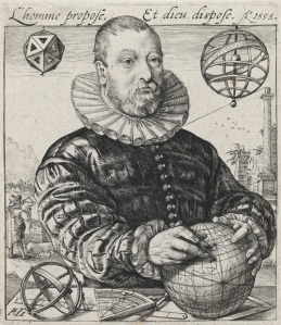 Portrait of van Deventer by Goltzius