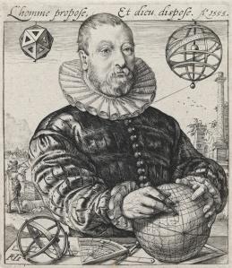 Portrait of van Deventer by Goltzius