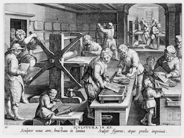 Invention of Copperplate Engraving